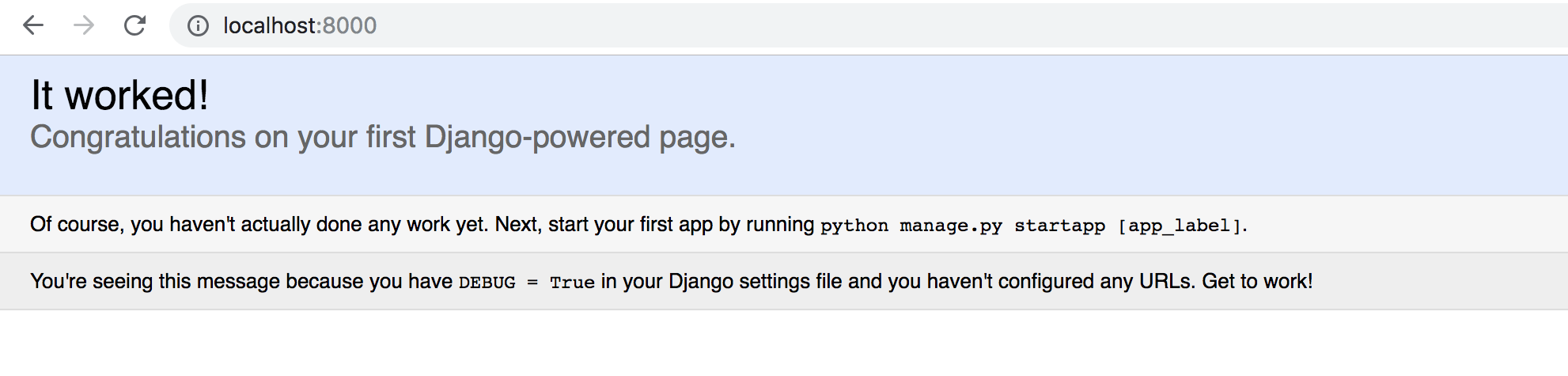 How to Install and configure Django to render HTML Template